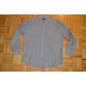 J Crew Mens Button Casual Dress Shirt Size L